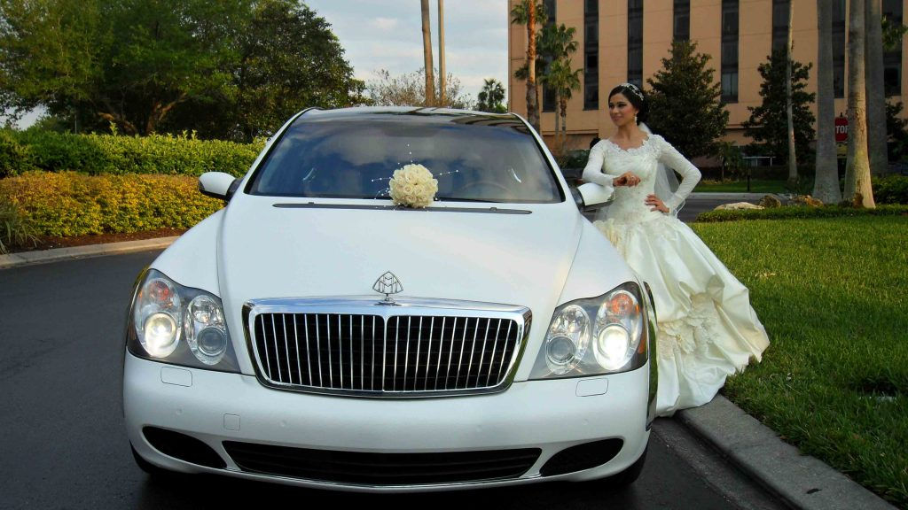 wedding car rental services in Dubai