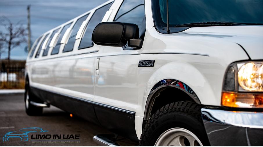 limo in Dubai